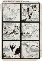 BUCKLER, RICH / RICHARD HOWELL - All Star Squadron #36 pg 6, Shazam, Shining Knight Comic Art