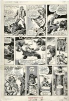 BUCKLER, RICH / ERNIE CHAN - Vampire Tales #5 pg, Morbius, the Living Vampire Comic Art