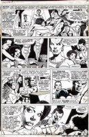 KANE, GIL / KLAUS JANSON - Jungle Action #9 pg 7, 4th solo Black Panther 1974  Comic Art