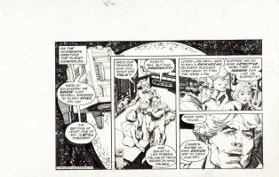 KANE, GIL / HOWARD CHAYKIN -  Star Hawks strip 2/9 1979 Comic Art