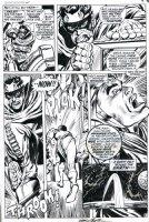 ADAMS, NEAL - Amazing Adventures #5 pg 8, Neal's 1st Inhumans - Gorgon, Karnak & Maximus Comic Art