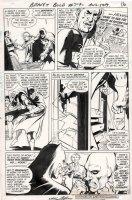ADAMS, NEAL - Brave & Bold #79 pg 14, 1ST Batman & Deadman teamup  all Bat panels + 2 DMs Comic Art