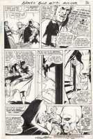 ADAMS, NEAL - Brave & Bold #79 pg 14, 1st Batman & Deadman, origin Hook Comic Art