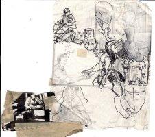 ADAMS, NEAL - Emergency Magazine TV series pg 14 prelim art  Comic Art
