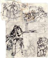 ADAMS, NEAL - Emergency Magazine TV series pg prelim art  Comic Art
