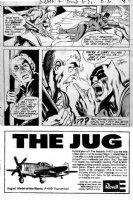 ADAMS, NEAL - Brave & Bold #86 2/3rds pg 8, Batman vs Deadman ink/wash on craft-tint board Comic Art