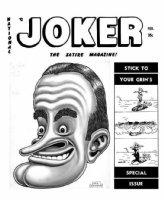 WOLVERTON, BASIL - Joker Magazine, Timely-Humorama : large Bob Hope 1940s Comic Art