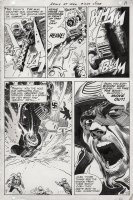 KUBERT, JOE - Our Army At War #207 pg 9, Rock and Easy Co. take out a Nazi tank!  Comic Art
