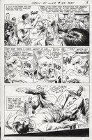 KUBERT, JOE - Our Army At War #193 pg 3, Sgt Rock big fight panel Comic Art