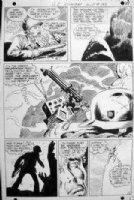 KUBERT, Joe - GI Combat #133 pg, Gunner & Sarge vs Nazi post 1968 Comic Art