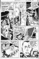 KUBERT, JOE - Star Spangled War Stories #156 pg 6, Sixth Unknown Soldier, dressed as Hitler 1971 Comic Art