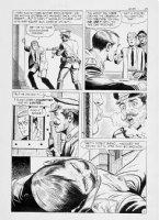 MONTES, BILL - Secret Agent #9 2up pg 11 Sarge Steel Comic Art