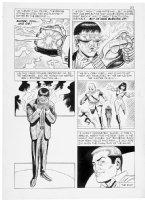 MONTES, BILL - Secret Agent #9 2up last pg Sarge Steel Comic Art