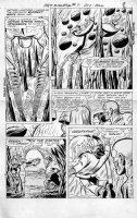 TRAPANI, SAL / CHARLES PARIS - Metamorpho #7 2-up pg 7, Meta & crew in death-trap, 1966 Comic Art