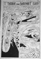 TRAPANI, SAL / CHARLES PARIS - Metamorpho #7 2-up chapter splash pg 18 Comic Art