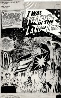 TOTH, ALEX - My Greatest Adventure #58 lrg pg 1, Splash  I Was Trapped in The Land of L'Oz  1961 Comic Art
