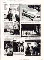TOTH, ALEX - Eerie #64 pg 7,   Daddy & The Pie  boy & miracle alien ala ET  1975 Comic Art