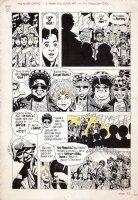 TOTH, ALEX - Electric Company Mag last pg, Easy Reader (Morgan Freeman) and 50s rock group 1970s  Comic Art