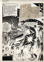 TOTH, ALEX - My Greatest Adventures #58 pg 1, splash to Toth's famous  Wizard of L'Oz  story Comic Art
