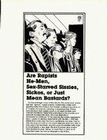 TOTH, ALEX - SSAM Military Newspaper Sunday Illo #1, Men in lineup 1981 Comic Art