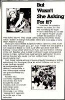 TOTH, ALEX - SSAM Military Newspaper Sunday Illo #2 & #7, Waitress & At The Park 1981 Comic Art