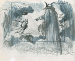 TOTH, ALEX - Animation Design art - fantasy show Comic Art