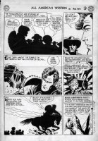 TOTH, ALEX - All American Western #121 large pg 9, Johnny Thunder Comic Art
