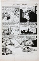 TOTH, ALEX - All American Western #120 large pg 4, Johnny Thunder Comic Art
