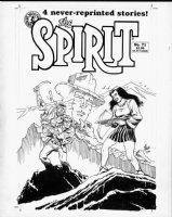 EISNER, WILL - Spirit #71 art cover + pencil cover bonus! Comic Art