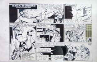 MORROW, GRAY - Buck Rogers Sunday 5/18 1979 Comic Art