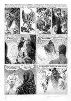 MORROW, GRAY - Creepy #9 large page,  Dark Kingdom  by Archie Goodwin 1966 Comic Art