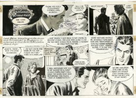 MORROW, GRAY - Barbara Cartland's Romances Sunday, Love Pirate night meeting – 7/26/1981  Comic Art