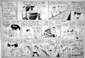 CRANE, ROY - Buz Sawyer Sunday 11/19 1944, Navy cooking Comic Art