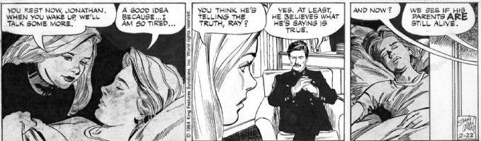 DRAKE, STAN - Juliet Jones 2/22 1984 Eve helps orphan? Comic Art