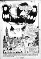 HUGHES, ADAM - JLA #51 pg 1 splash, Dr. Seuss Green Lantern - G'Nort Comic Art