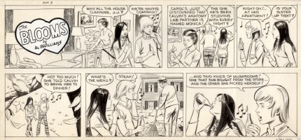 McWILLIAMS, AL - The Blooms Sunday #3 1970s Comic Art