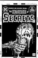 ROBBINS, FRANK - House of Secrets #123 cover, depicts Alex Toth famous ice cream story Comic Art