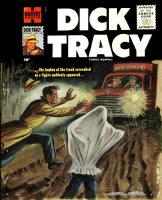 GOULD studio - Dick Tracy #108 painted cover, Tracy in action  Comic Art