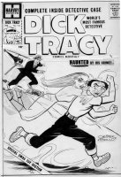 GOULD, CHESTER Studio - Dick Tracy #131 cover, Flattop, signed Gould Comic Art