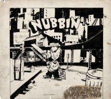 WOOD, WALLY - Will Eisner's John Law #1 (1949) Adventures of Nubbin, top of page splash panel Comic Art