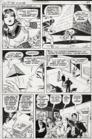 WOOD, WALLY - Mighty Isis #1 pg 29, last page, Isis defeats Scarab and returns to her Andrea teacher identity with all of her high school cast shown  Comic Art