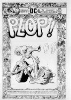 WOOD, WALLY - Plop #19 cover, DC Humor - Smokin' Sanford 2/ Sergio Aragones border design Comic Art
