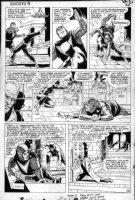 WOOD, WALLY - Daredevil #9 large pg 18, DD fights Kruger Comic Art