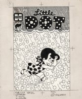 KREMER, WARREN - Little Dot #107 cover, the  hail , you say! Comic Art