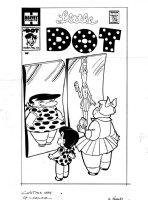 KREMER, WARREN - Little Dot #10 cover, ironic images! Comic Art