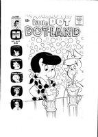 KREMER, WARREN - Little Dot Dotland #59 cover, Little Dot and Little Lotta, BFFs!!! Comic Art