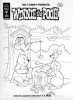 ALVARADO, PETE - Walt Disney Winnie-the-Pooh #6 cover, Pooh & team toasting 1978 Comic Art