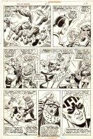 COCKRUM, DAVE - Avengers, Giant-Size #3 pg 24, Celestial Madonna Saga- Hawkeye vs Zemo Comic Art