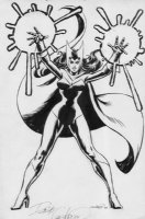 COCKRUM, DAVE - Scarlet Witch, 1970's Marvel licensing art Comic Art