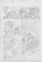 COCKRUM, DAVE - Solar #? pencil pg 17 Comic Art